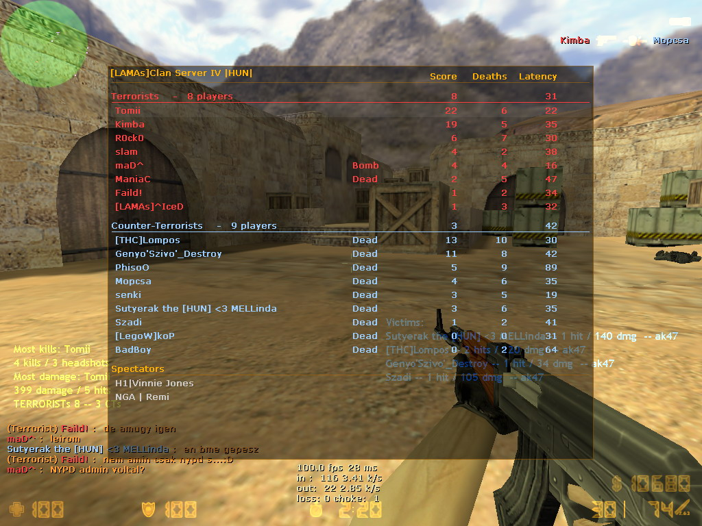counter strike american servers cs 1