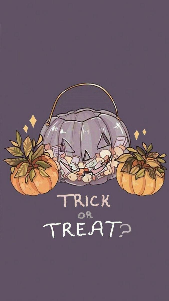 Cute Halloween Backgrounds.Cute Halloween Background 675x1201 Wallpaper Teahub Io