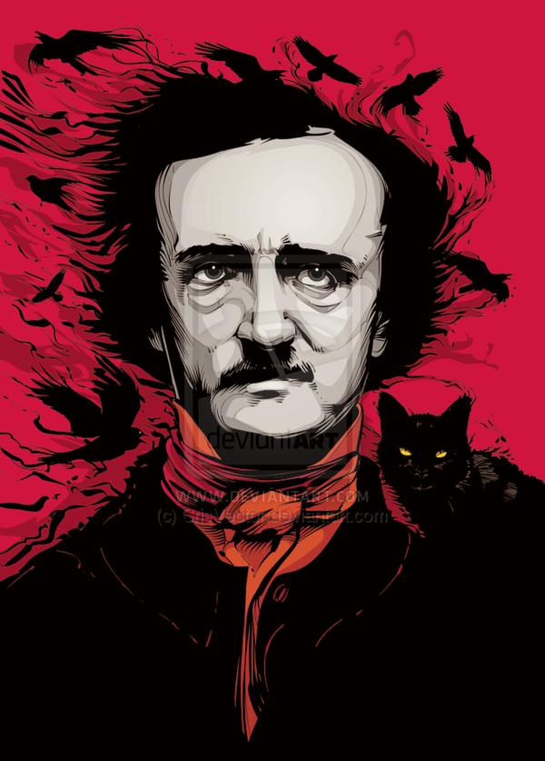 Edgar Allan Poe Phone Wallpaper