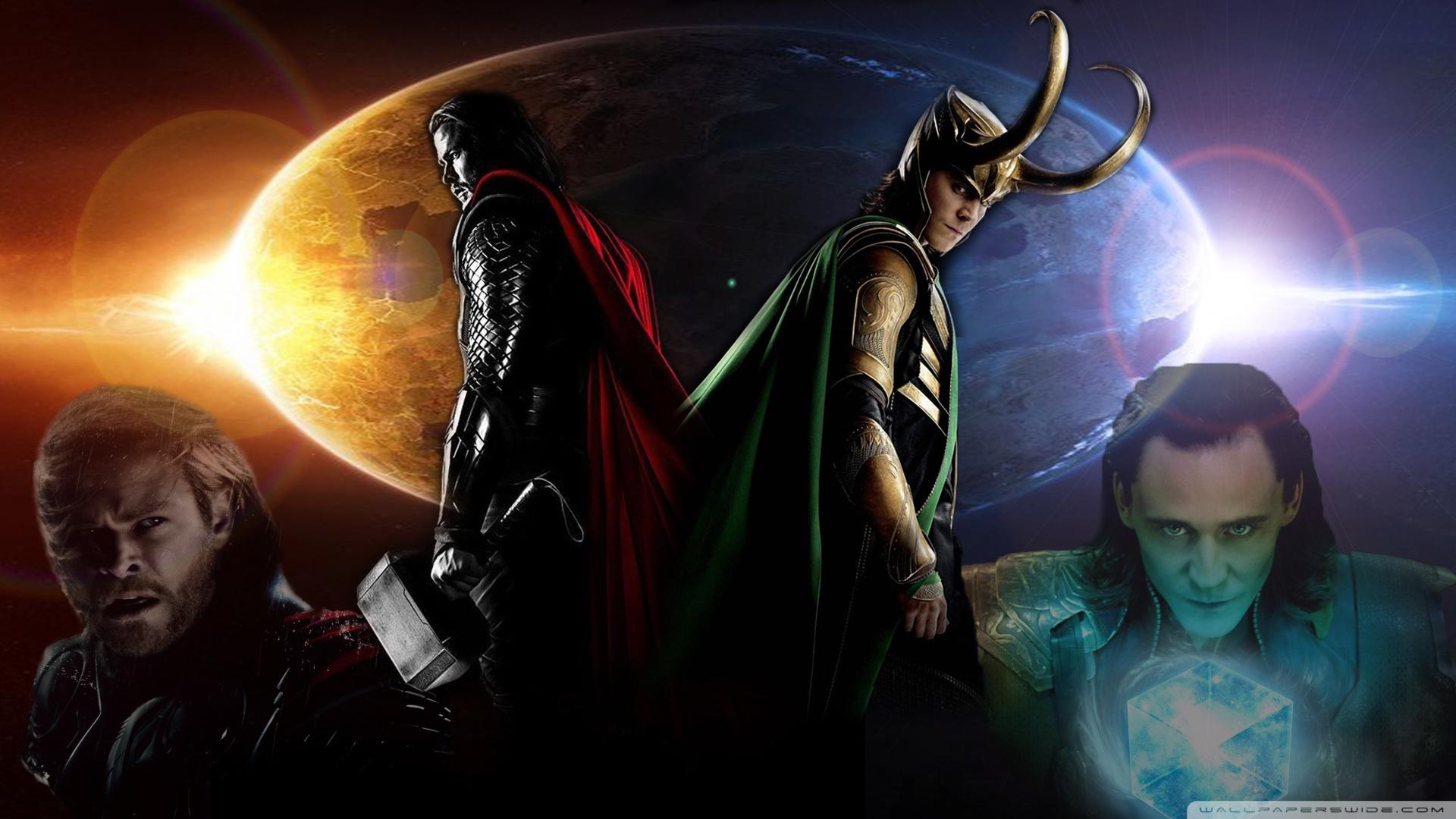 Thor And Loki Wallpaper Hd - HD Wallpaper
