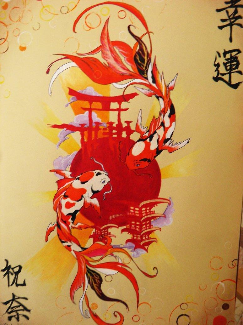 Koi Fish Wallpaper Hd 774x1032 Wallpaper Teahub Io
