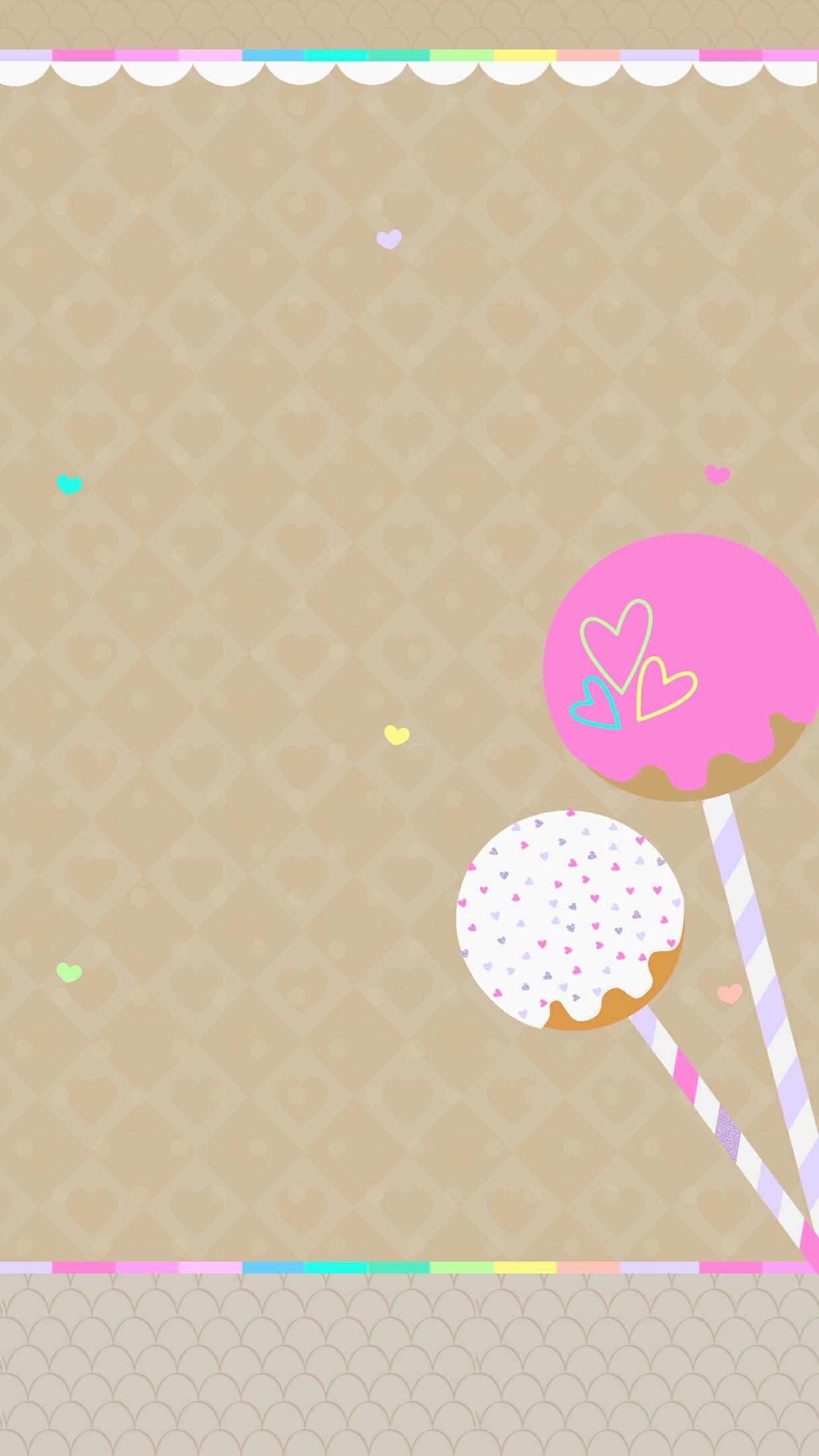 Iphone Wall Tjn - Cake Kartun - HD Wallpaper
