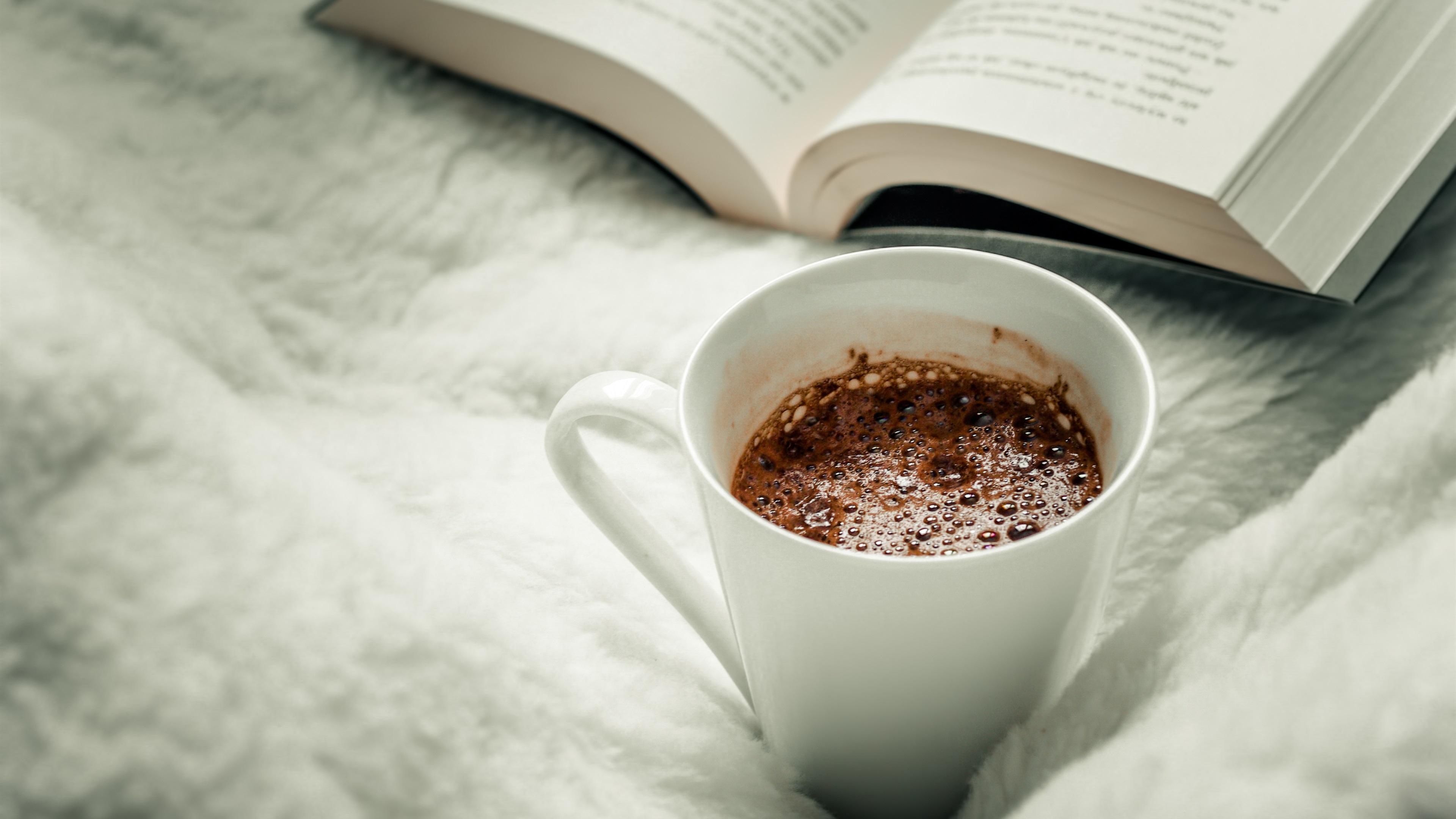 Wallpaper Coffee Mug Book Fond D Ecran Cafe 3840x2160 Wallpaper Teahub Io