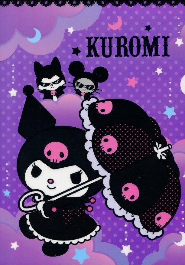 008 Kuromi Kuromi 612x876 Wallpaper Teahub Io