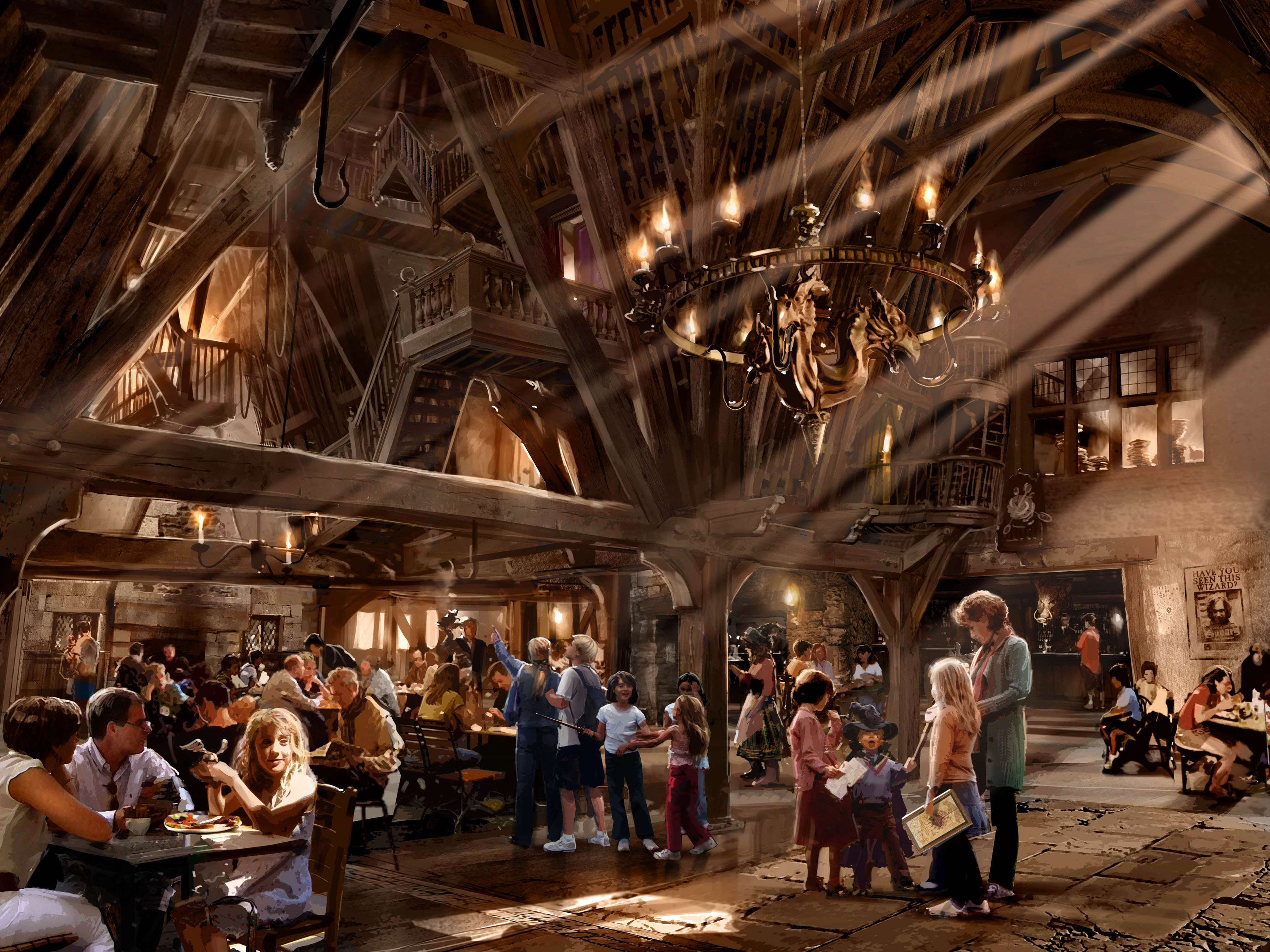 Harry Potter Theme Park - HD Wallpaper