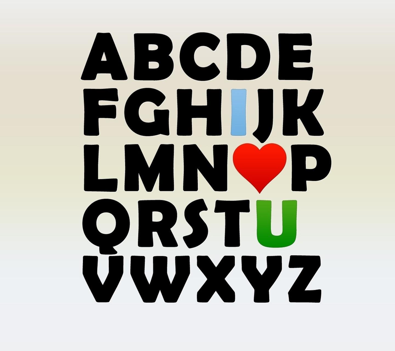 Love Wallpaper Hd Alphabet - HD Wallpaper