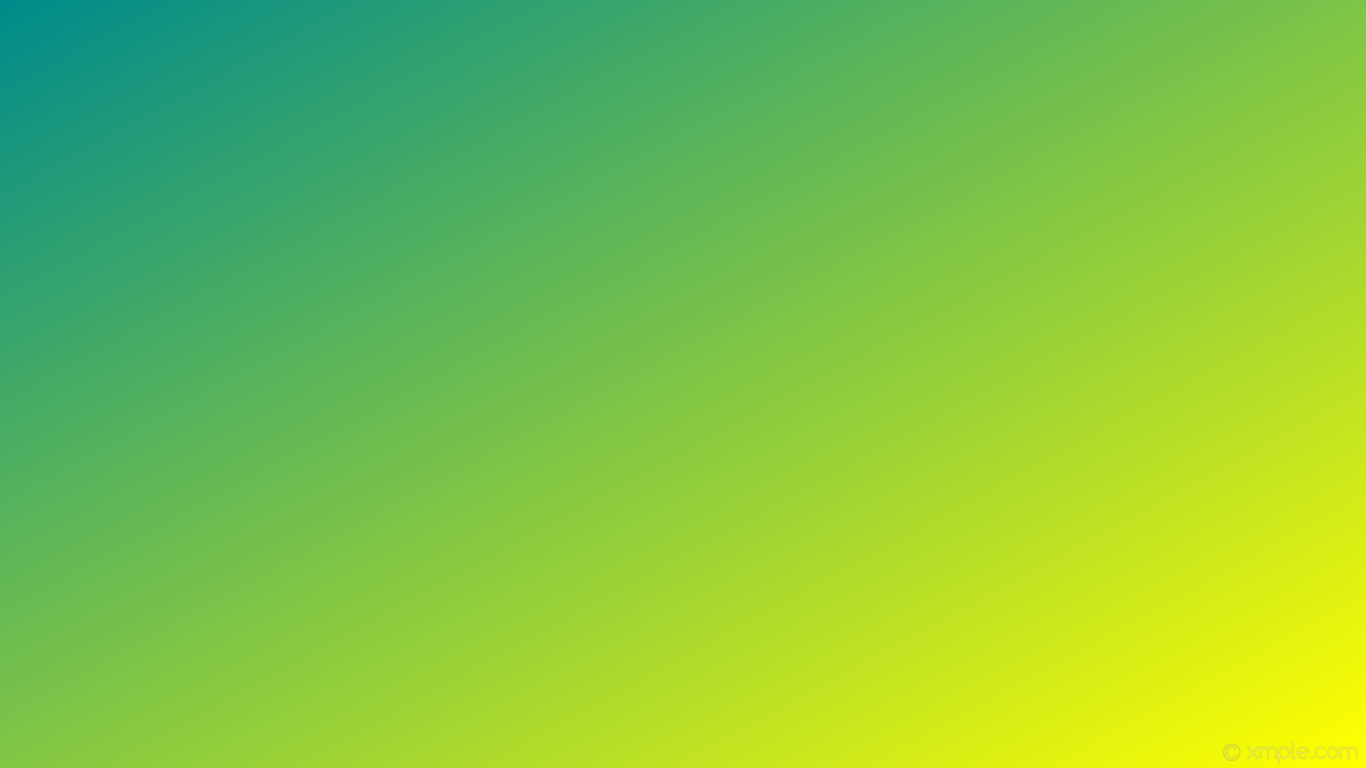 Wallpaper Gradient Green Yellow Linear Dark Cyan - Color Gradient Green Yellow - HD Wallpaper