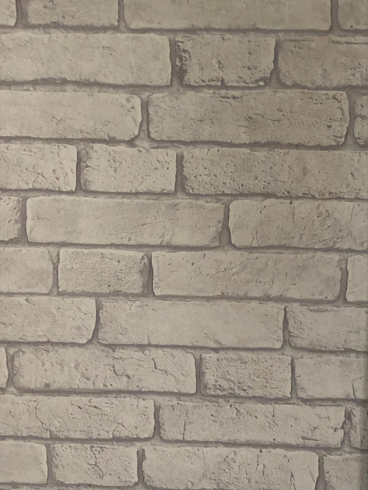 Only Have One Roll Left  roll Size - White Brick Wallpaper - HD Wallpaper