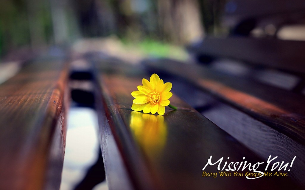 Let Them Know That You Miss Them - Emotional Miss U Love Quotes - HD Wallpaper