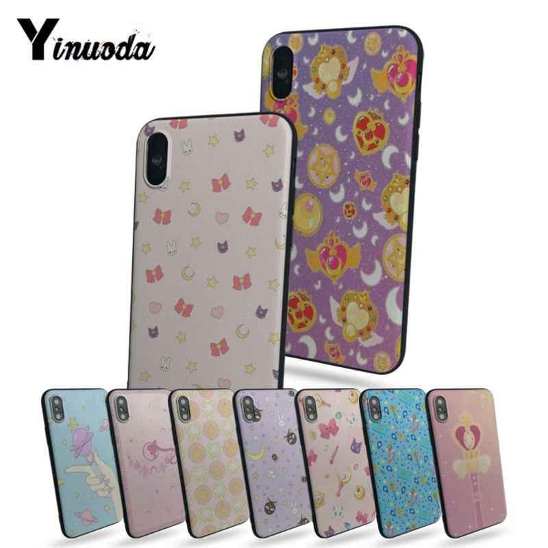 Yinuoda Sailor Moon Wallpaper New Case Black Phone - Coque Iphone Xs Caterpillar - HD Wallpaper