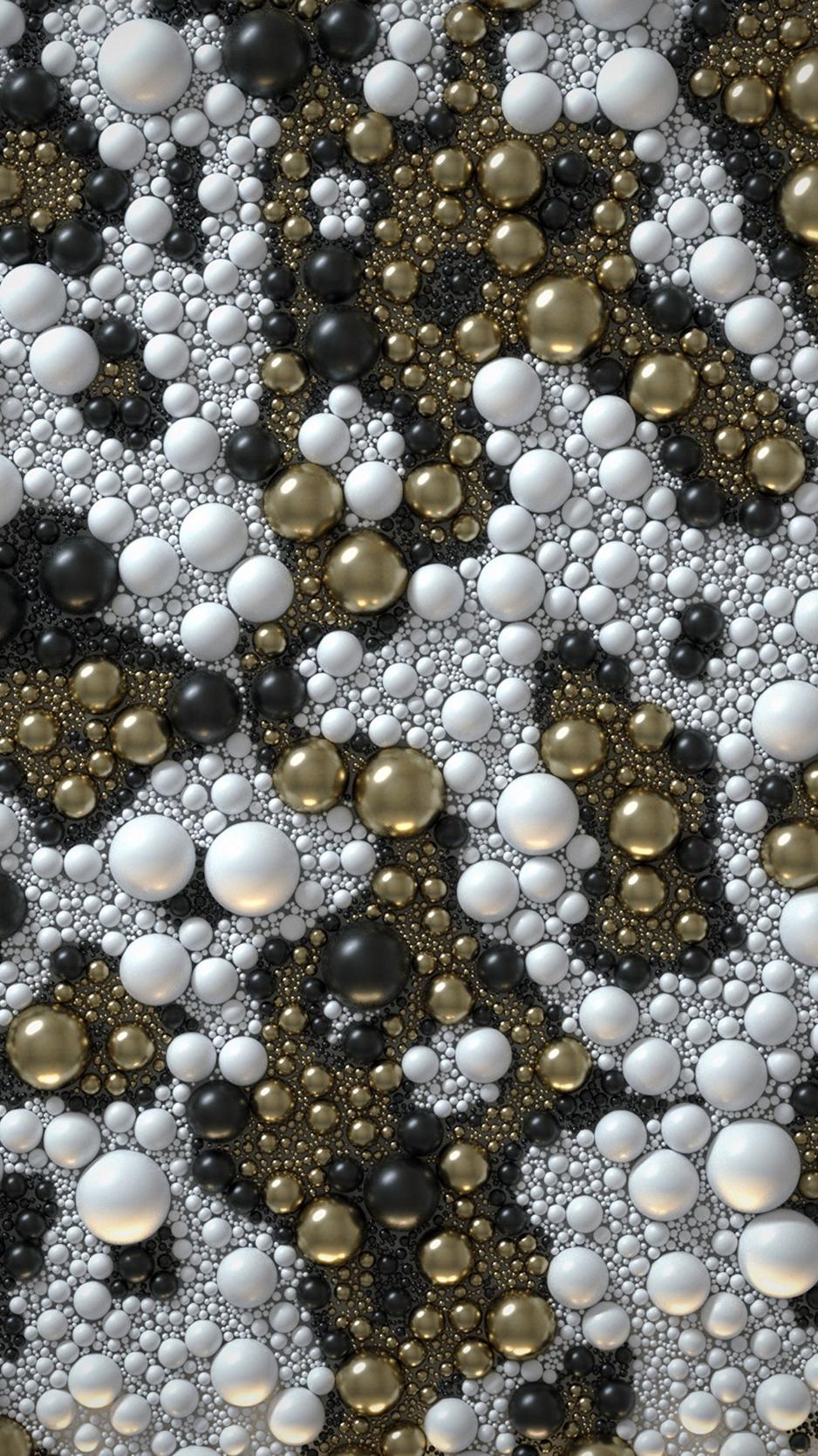 Wallpaper Texture, Bubble, Balls, Colorful, 3d - Colorful Iphone Wallpaper 3d - HD Wallpaper