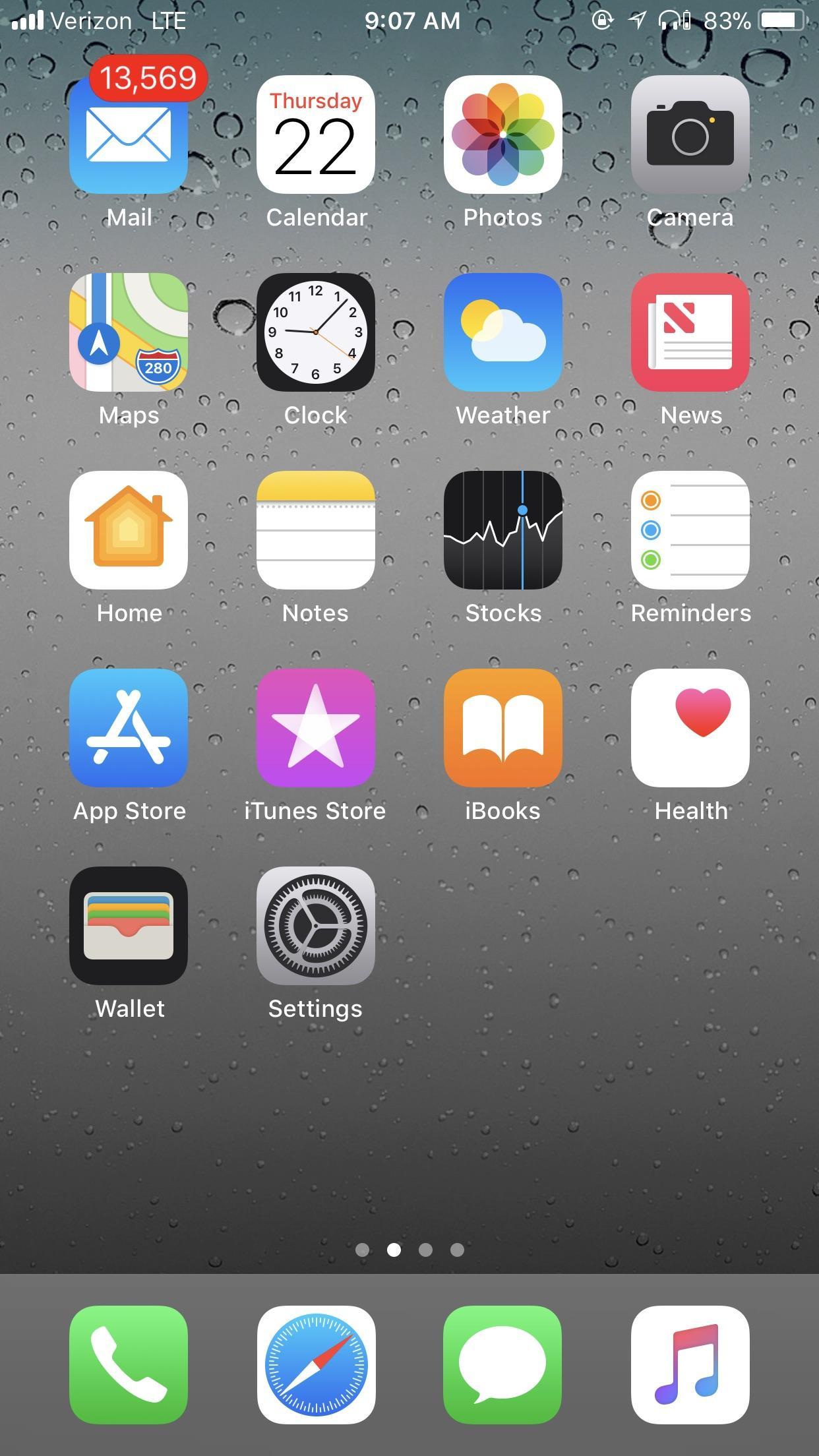 Iphone 11 Home Screen Screenshot 1242x2208 Wallpaper Teahub Io