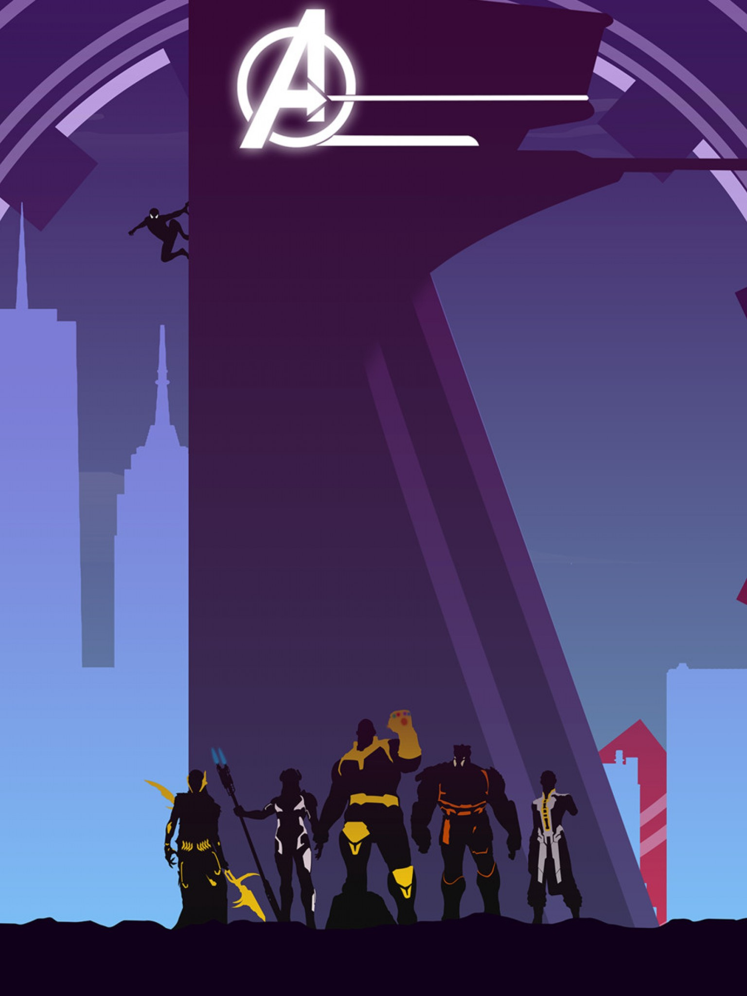 Iphone Avengers Wallpaper 4k 1536x2048 Wallpaper Teahub Io