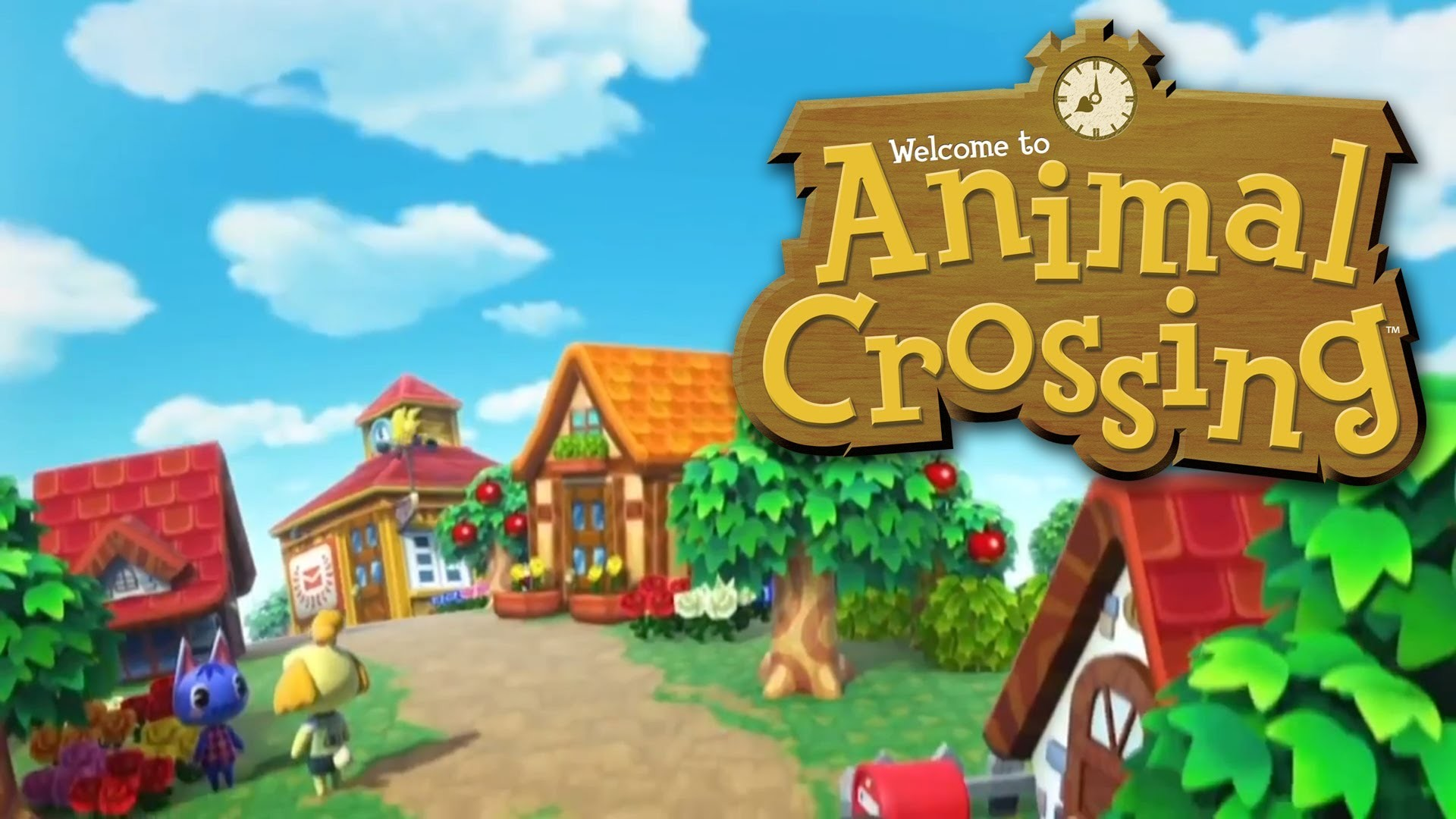Wiki Wallpapers Hd Animal Crossing Pic Wpe0012464   - Animal Crossing Gamecube Logo - HD Wallpaper