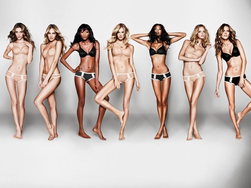 Victoria S Secret Vs Models 1024x768 Wallpaper Teahub Io