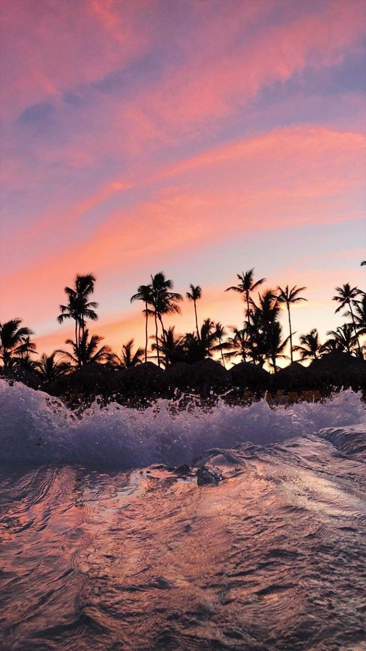 Beach, Ocean, And Wallpaper Image - Aesthetic Wallpapers For Iphone - HD Wallpaper