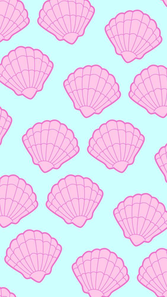 Wallpaper, Background, And Snail Image - Papel De Parede Para Celular Fofos De Cereia - HD Wallpaper