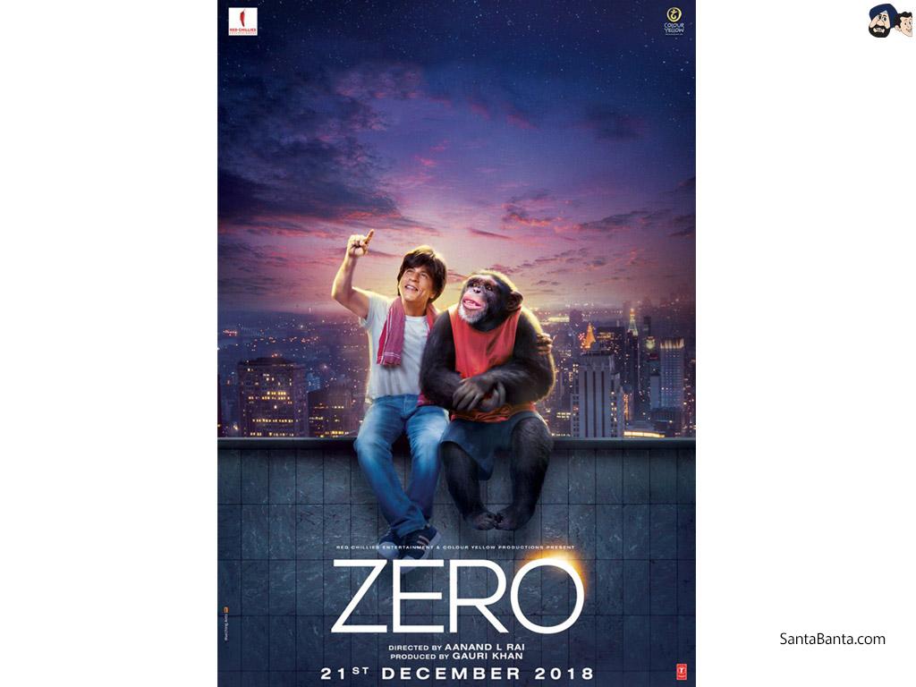 Zero - Zero Movie Poster Hd - HD Wallpaper