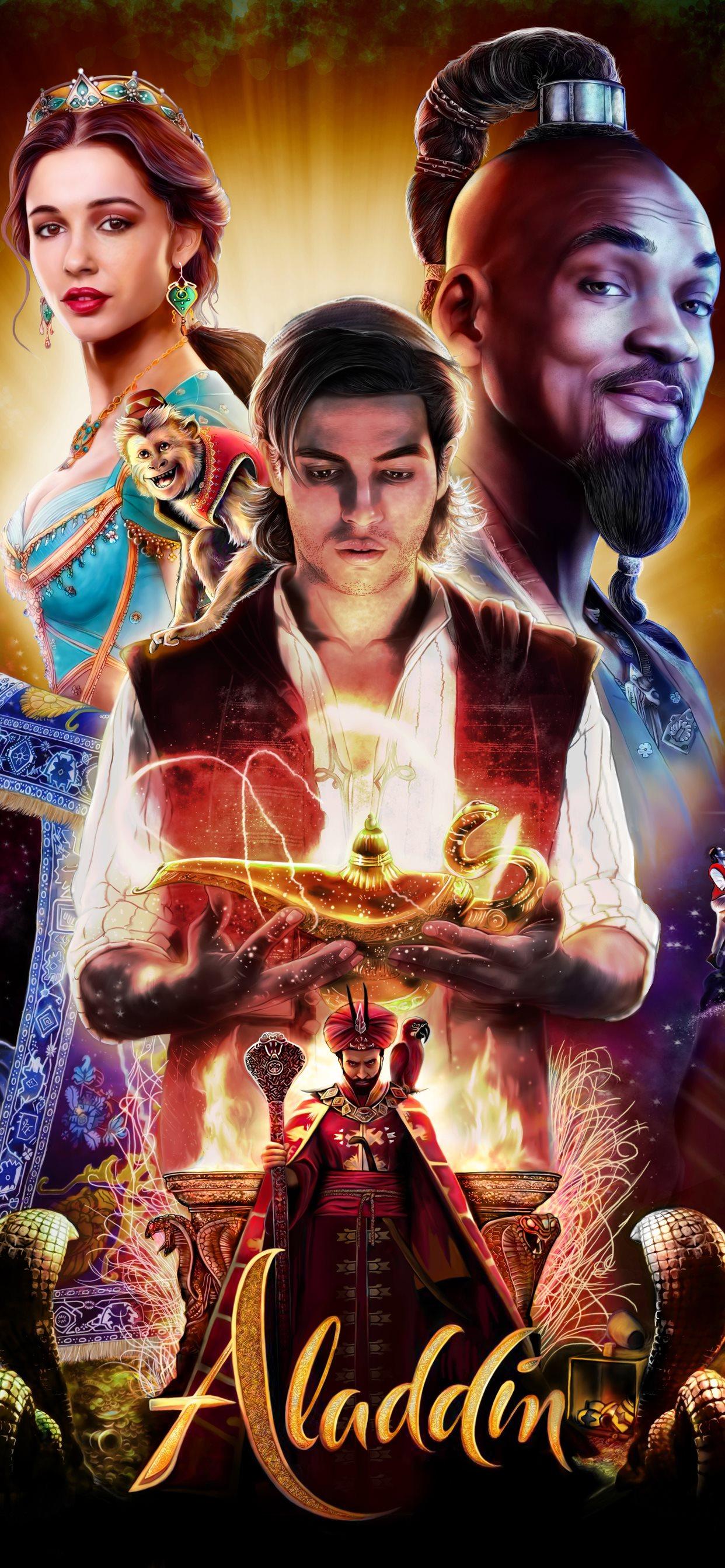 Aladdin Movie Poster 4k - HD Wallpaper