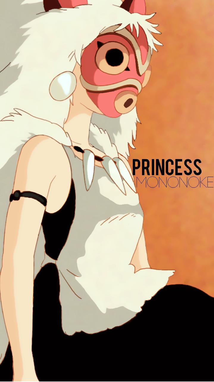 Princess Mononoke Phone Wallpaper Princesa Mononoke Studio Ghibli 719x1280 Wallpaper Teahub Io