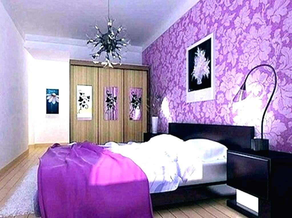 Purple Bedroom Wallpaper Color Purple Paint Bedroom - HD Wallpaper