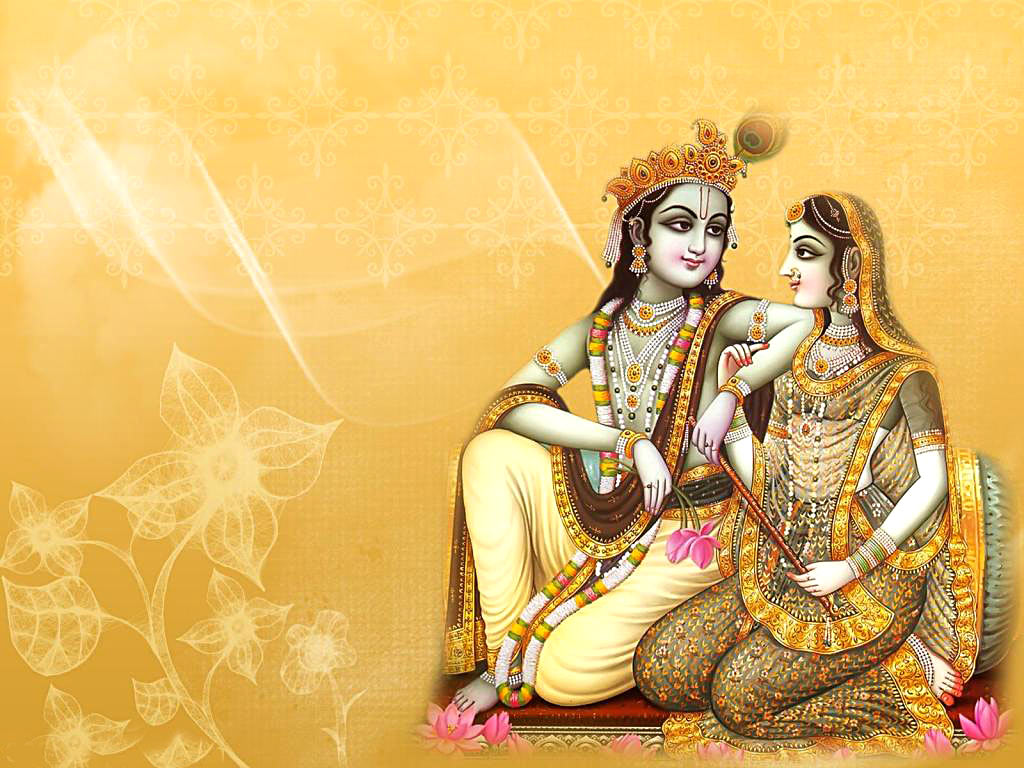 Hindu Religious Sacred Lord Wallpapers God Krishna - Desktop Radha Krishna Wallpaper Hd - HD Wallpaper