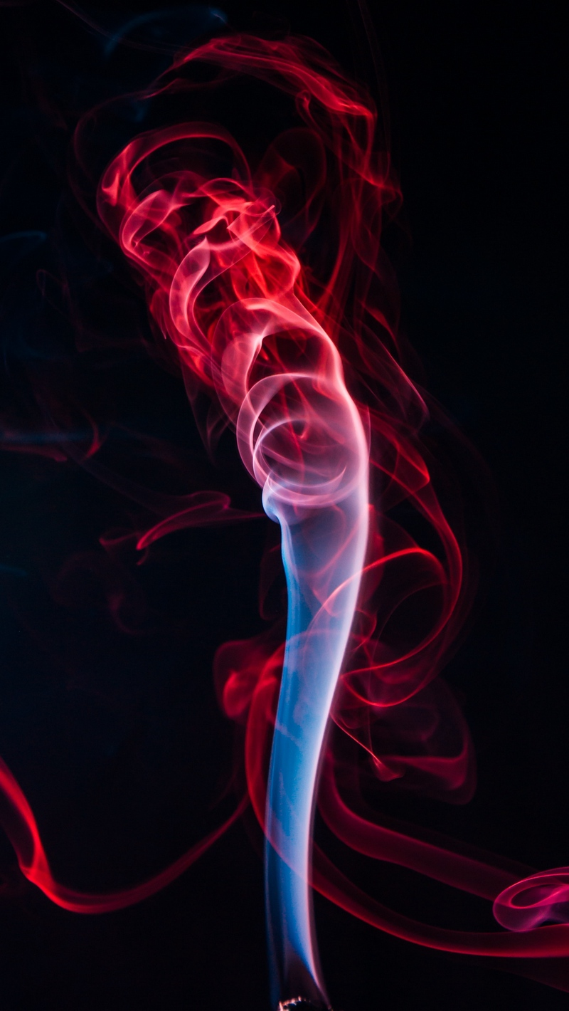Wallpaper Colored Smoke Shroud Bunches Red Black Red And Black Wallpaper Iphone Hd 800x1420 Wallpaper Teahub Io
