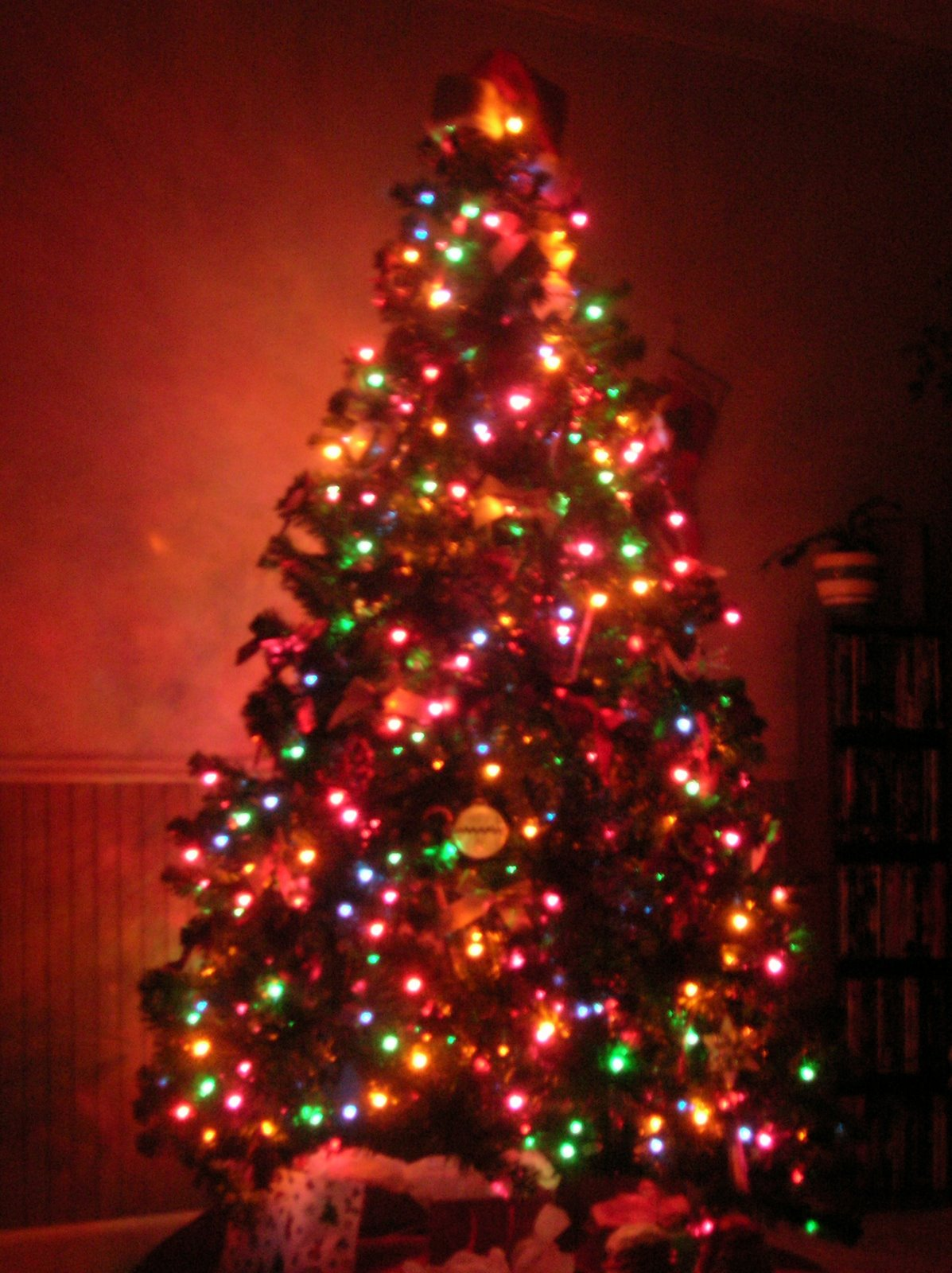 Beautiful Christmas Tree Lights Colorful Christmas Tree Lights 1197x1600 Wallpaper Teahub Io