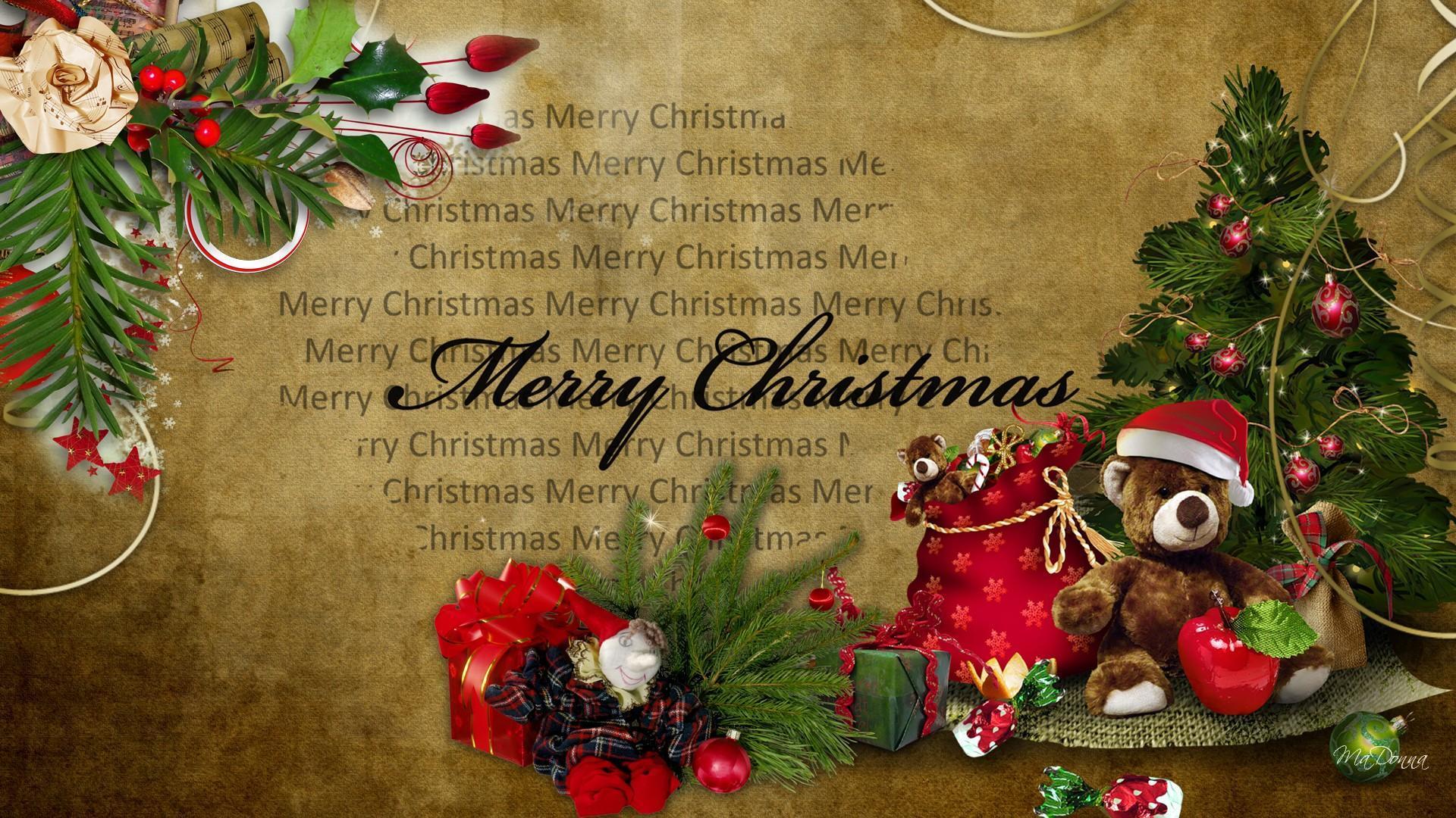 Vintage Look Christmas Vintage Old Fashioned Christmas Backgrounds 1920x1080 Wallpaper Teahub Io