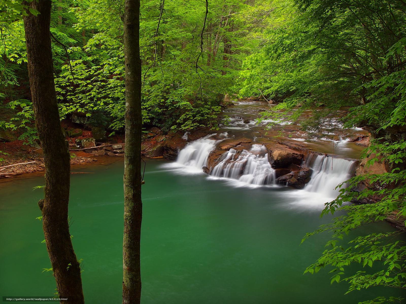 Download Wallpaper Lower Glade Creek Falls, New River - Glade Creek New River Gorge - HD Wallpaper
