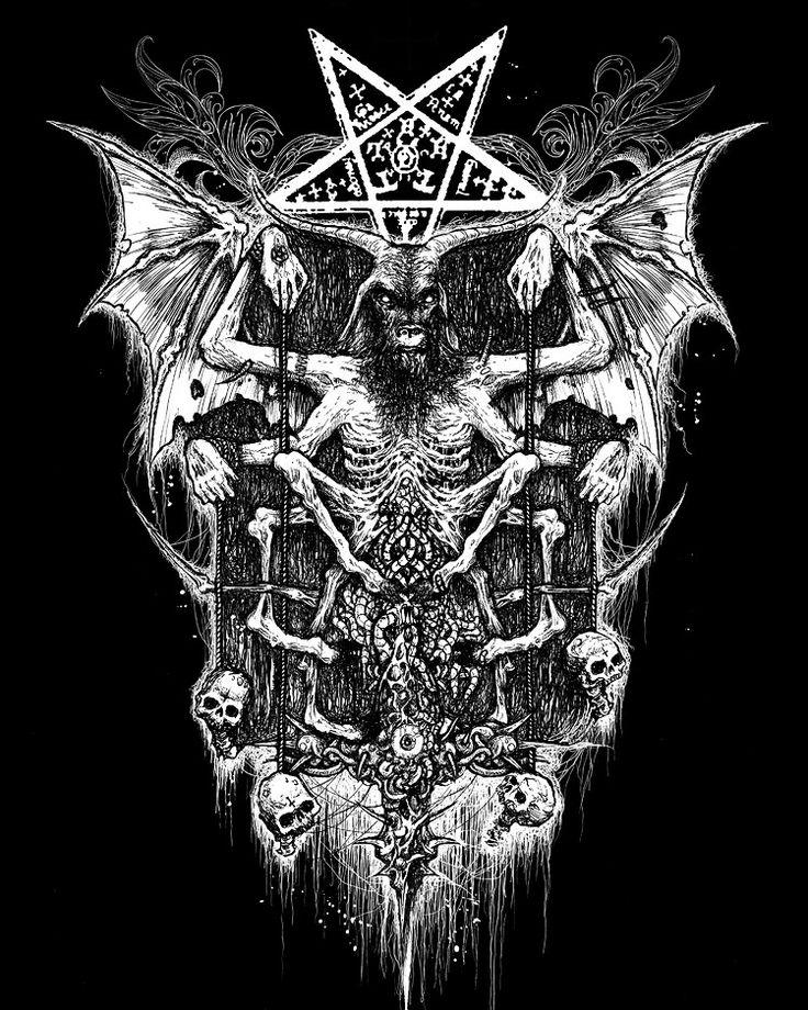 Satanic Iphone Wallpaper Mark Riddick 736x920 Wallpaper Teahub Io