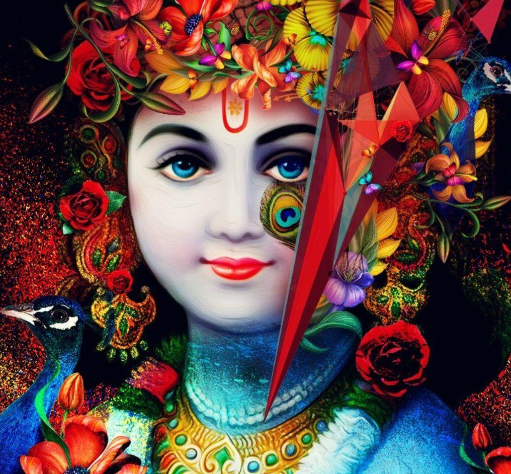125 Hindu God Wallpaper Download Free Hd & Hindu God - Shri Krishna Hd - HD Wallpaper