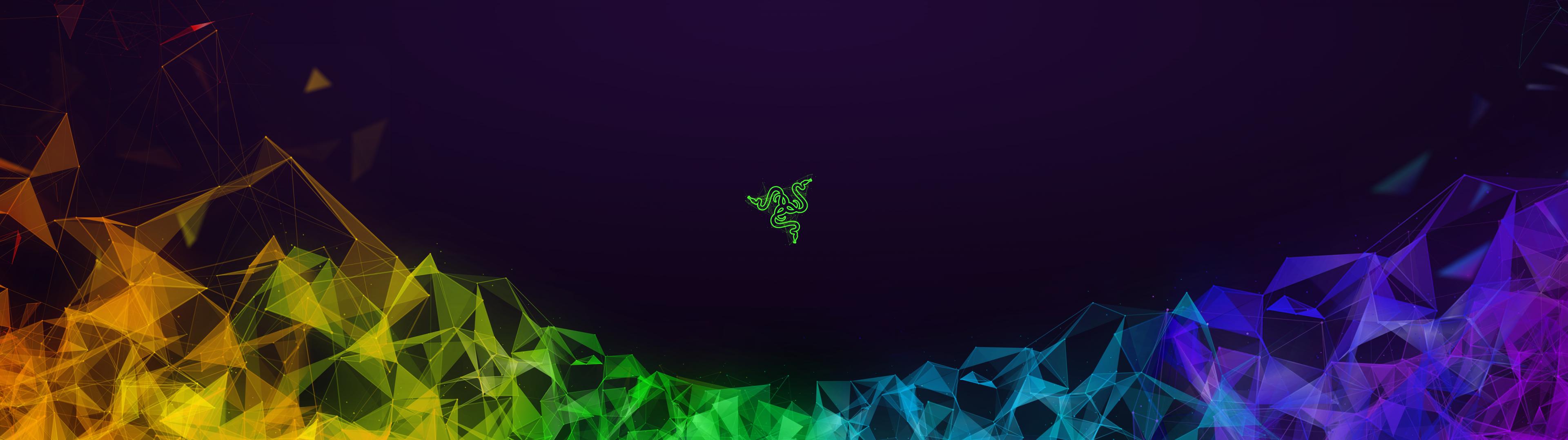 Razer, Triple Monitor, Digital Art, Gaming - Razer Wallpaper Dual Monitor - HD Wallpaper