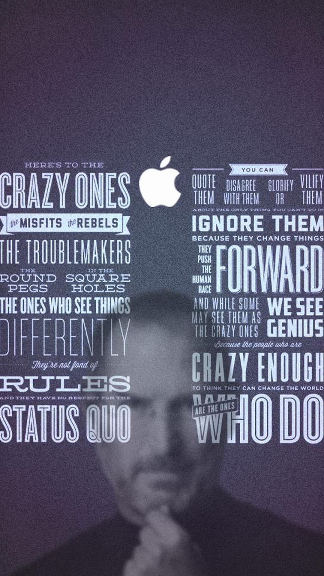 Steve Jobs Quotes Wallpaper For Iphone - HD Wallpaper