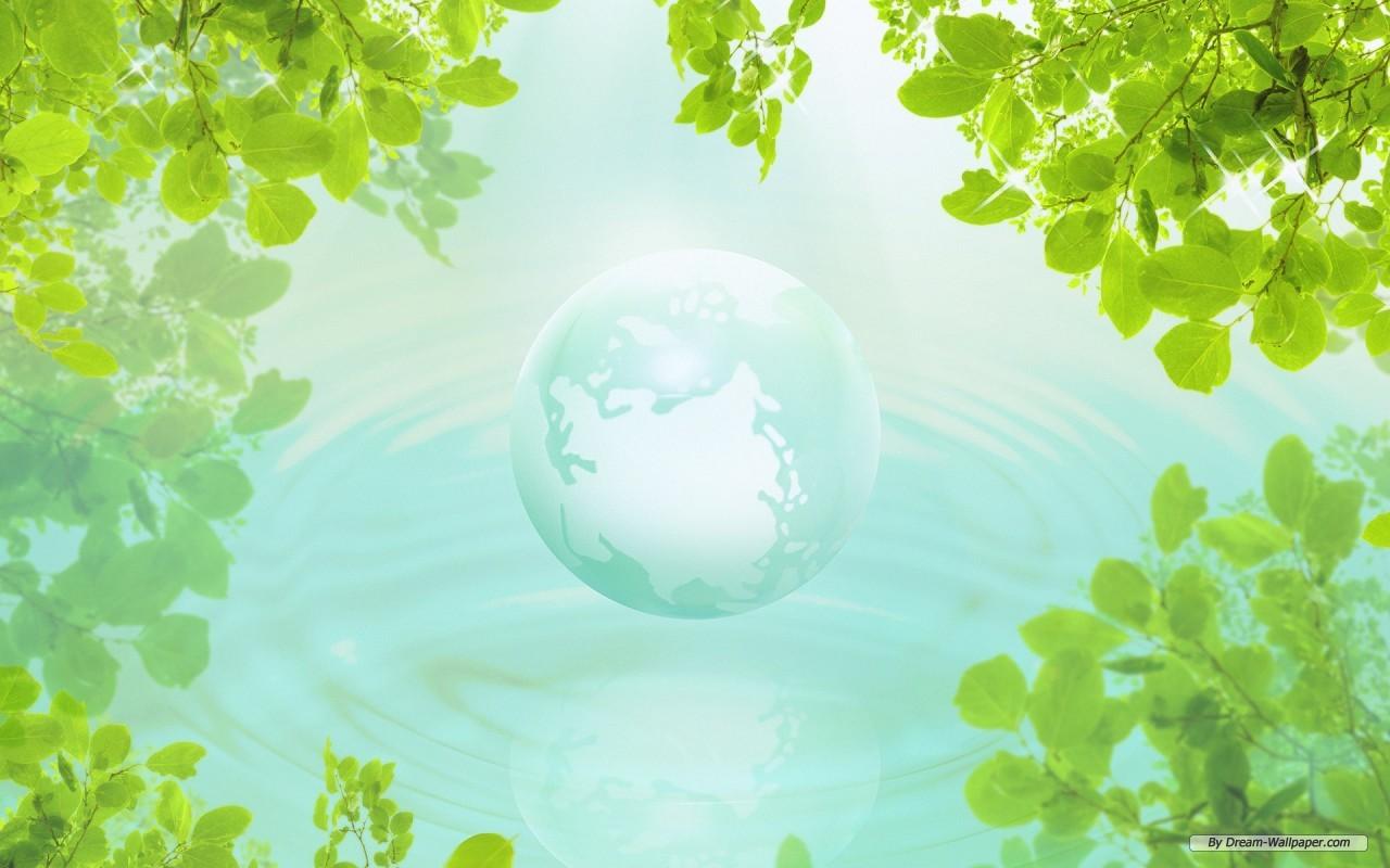 Free Nature Wallpaper - Green Nature - HD Wallpaper