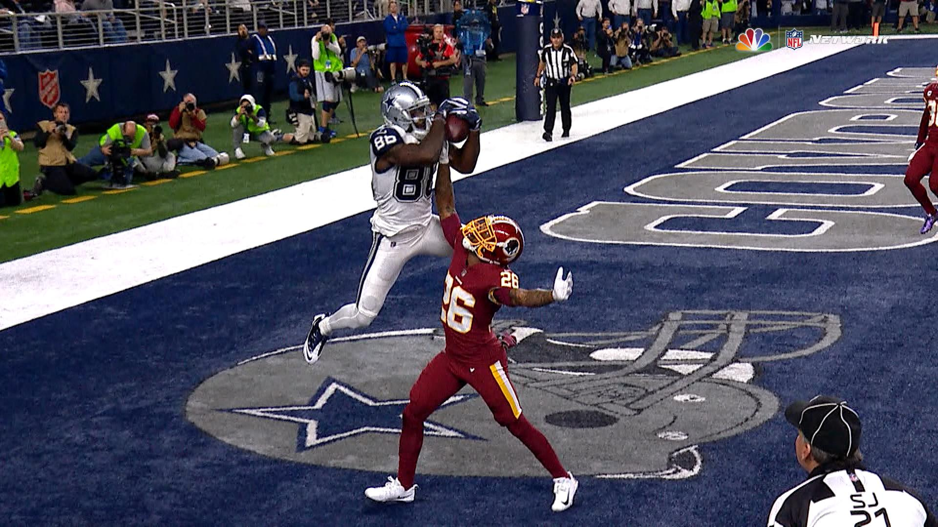 Dez Bryant Catch Vs Redskins Hd - HD Wallpaper