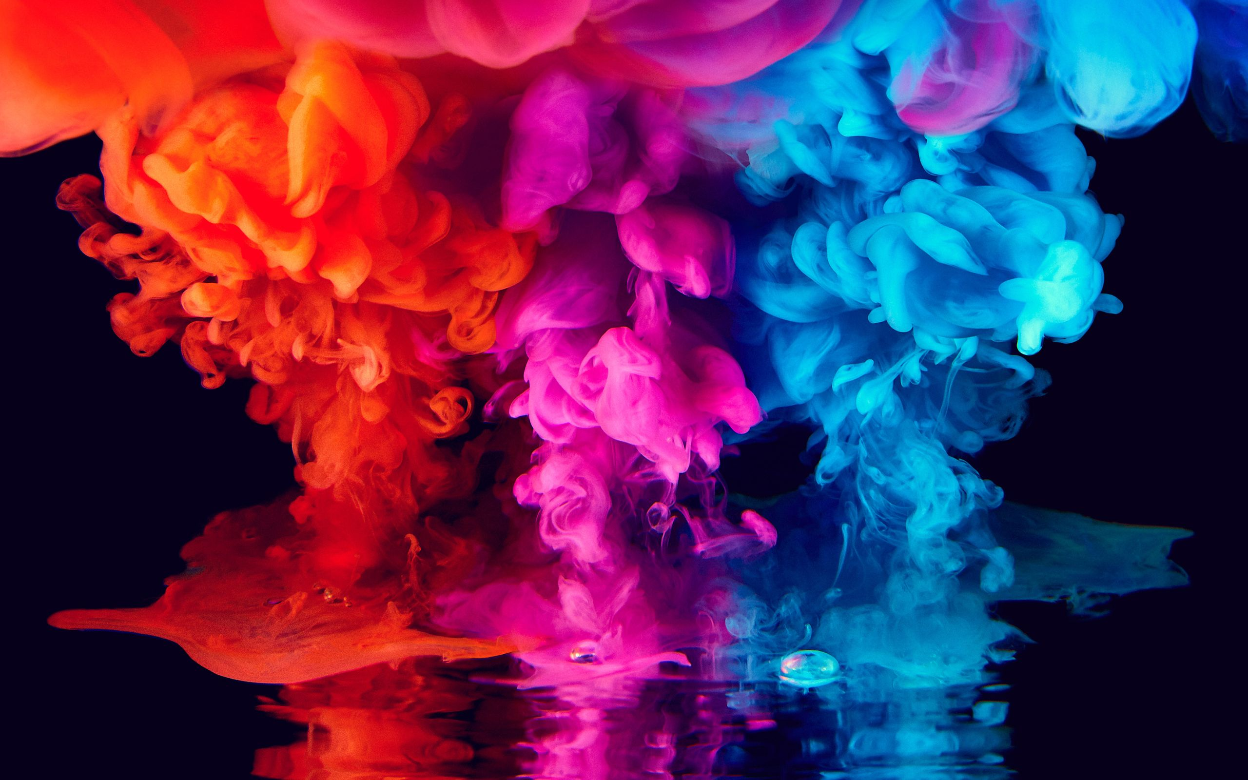 Wallpaper Of Colors Smoke Abstract Background Hd Iphone Smoke Wallpaper 4k 2560x1600 Wallpaper Teahub Io