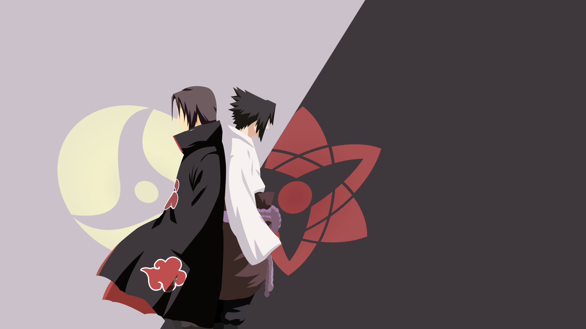 26 267500 sasuke and itachi minimalist