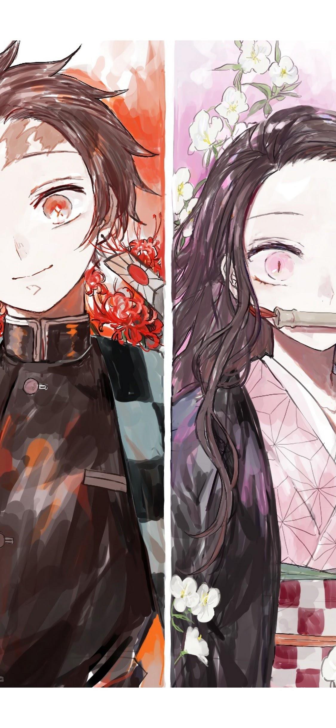 Kimetsu No Yaiba, Demon Hunters, 4k, - Demon Hunter Kimetsu No Yaiba - HD Wallpaper