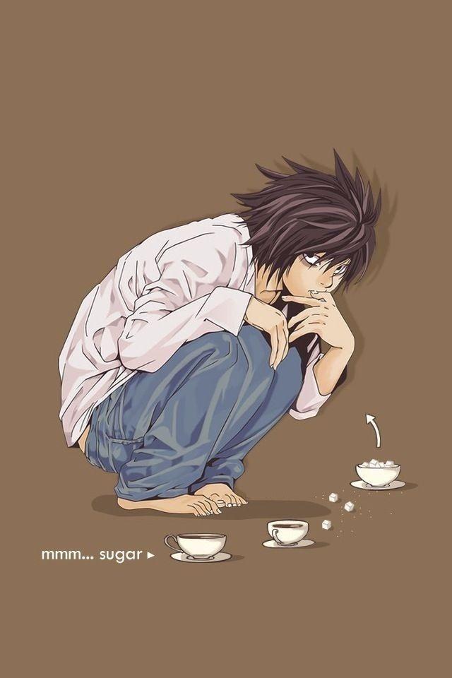 L Death Note Wallpaper Iphone 640x960 Wallpaper Teahub Io