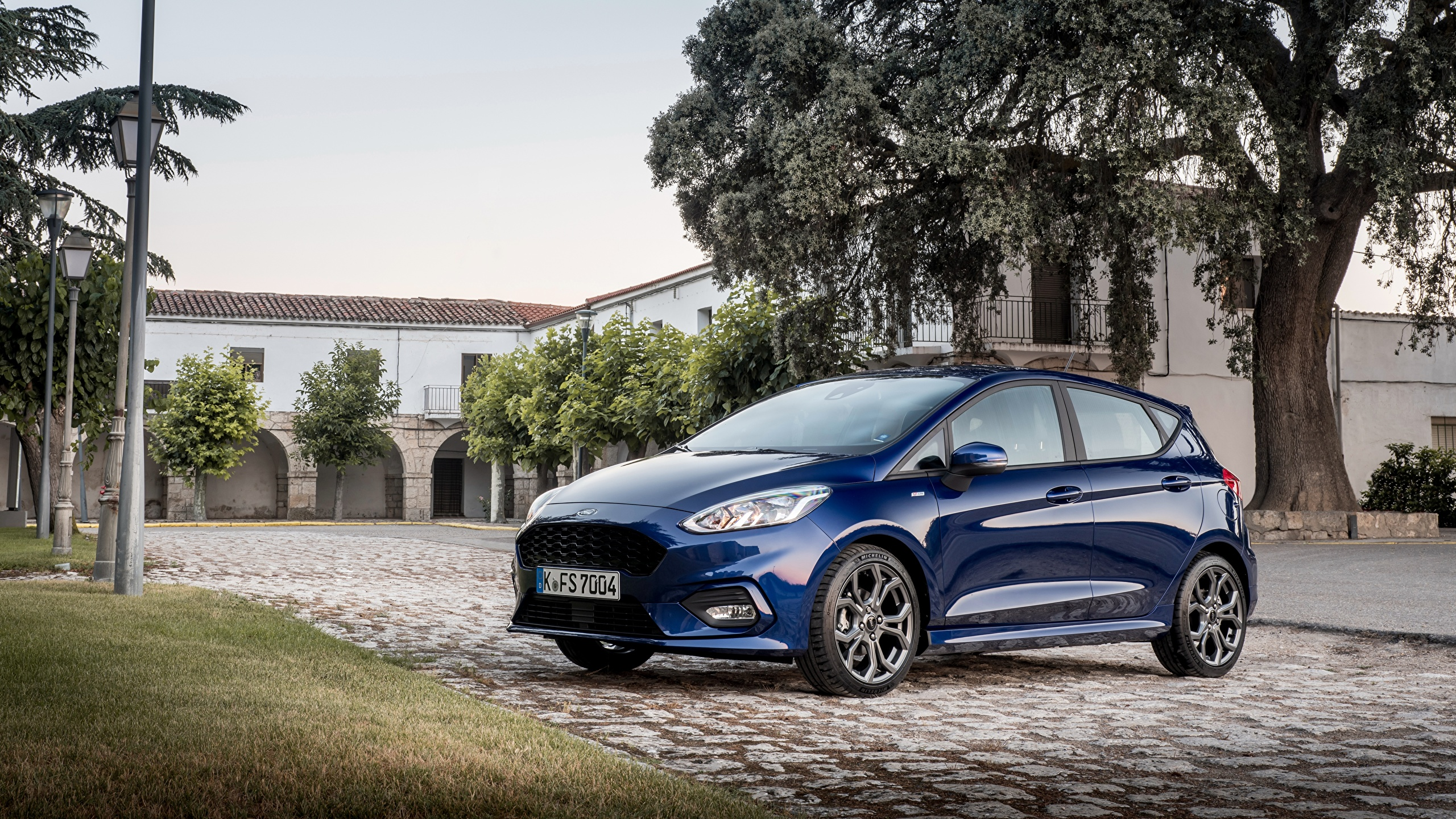 Ford Fiesta St Line 2018 Blue 2560x1440 Wallpaper Teahub Io