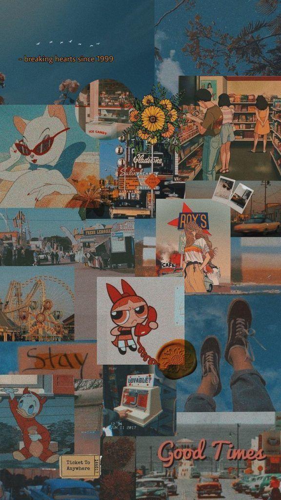 Aesthetic Vintage Wallpaper Iphone - HD Wallpaper