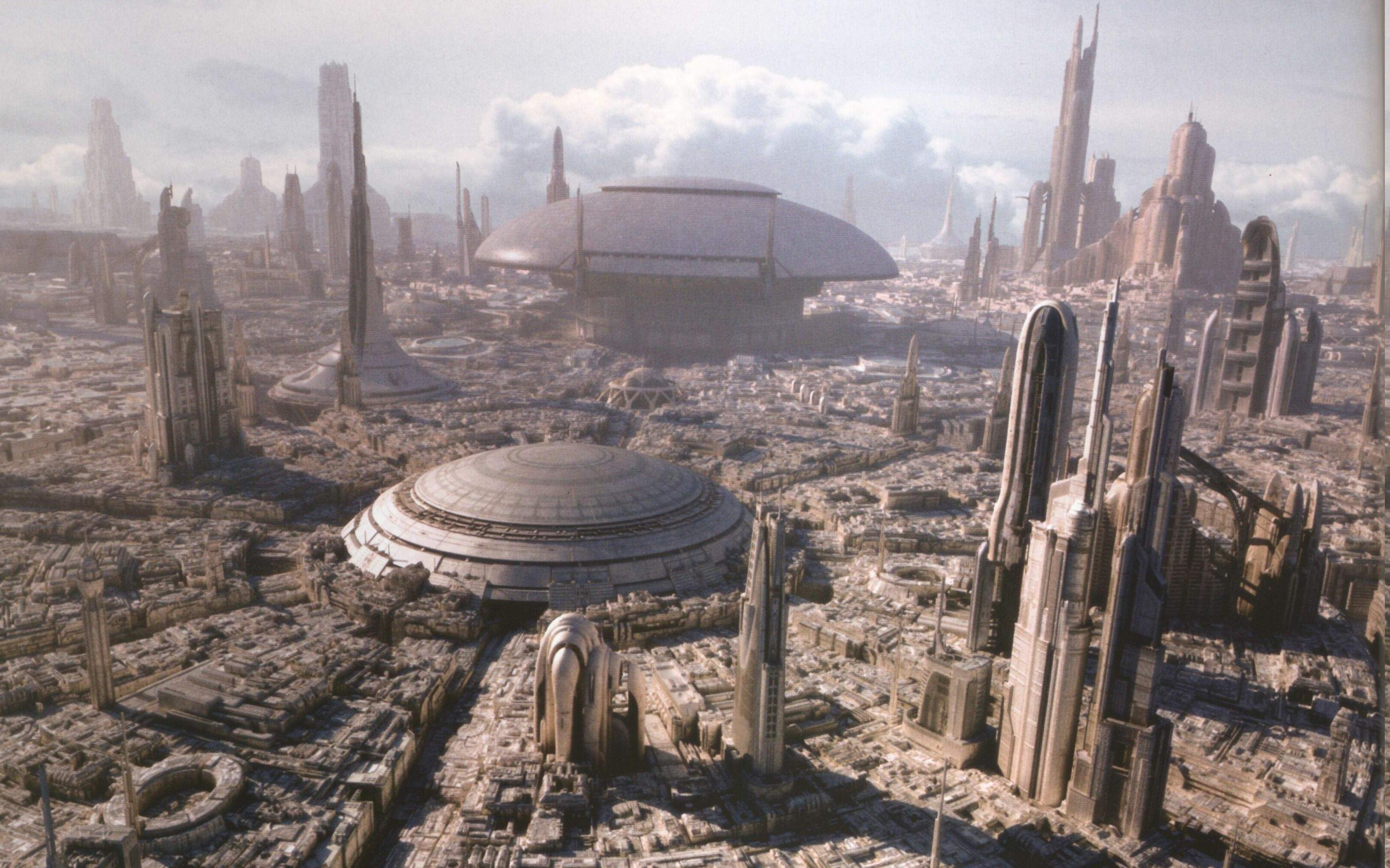 3228x2017 Star Wars Coruscant Science Fiction Wallpapers 3228x2017 Wallpaper Teahub Io