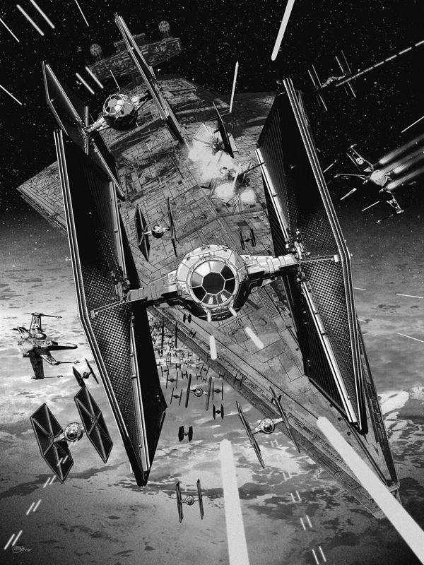 Star Wars Tie Fighter Art 600x800 Wallpaper Teahub Io