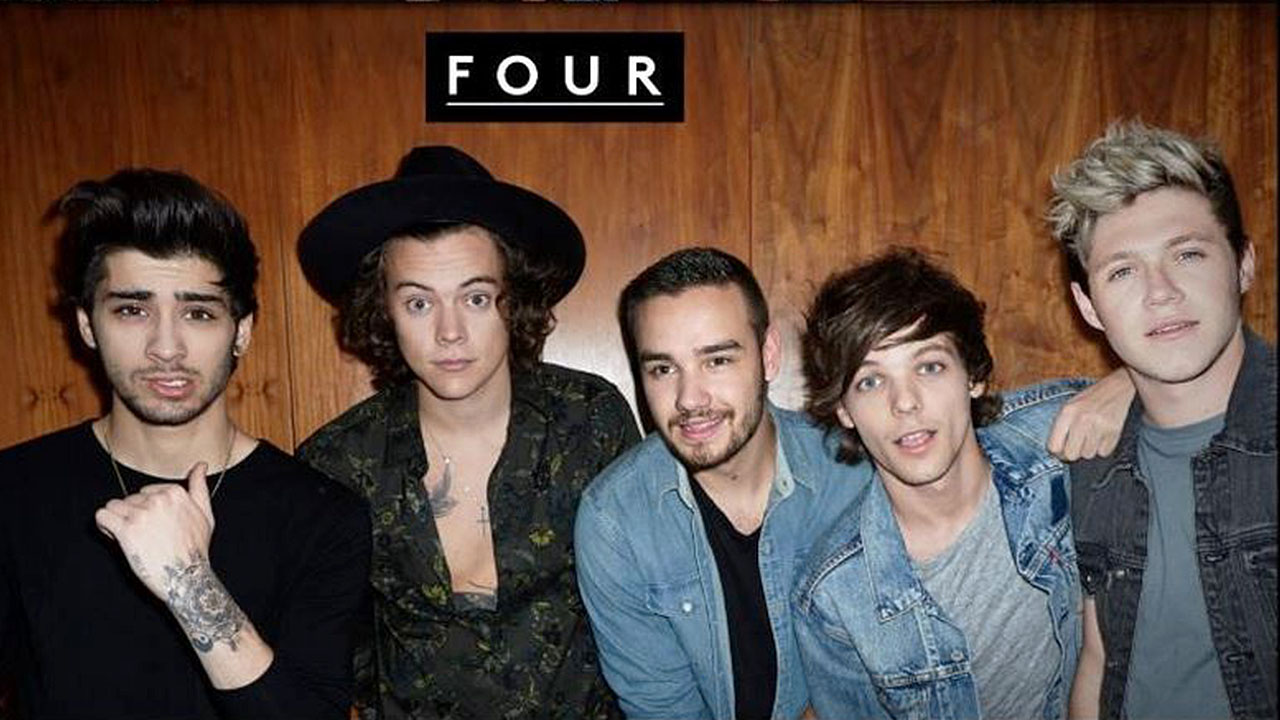 One Direction Four Cover - HD Wallpaper