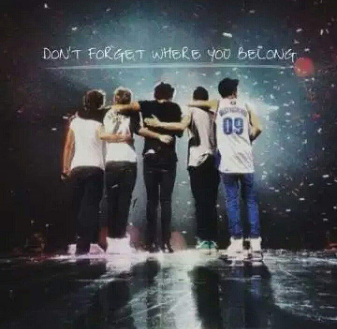 Don T Forget Where You Belong Album Cover One Direction - HD Wallpaper