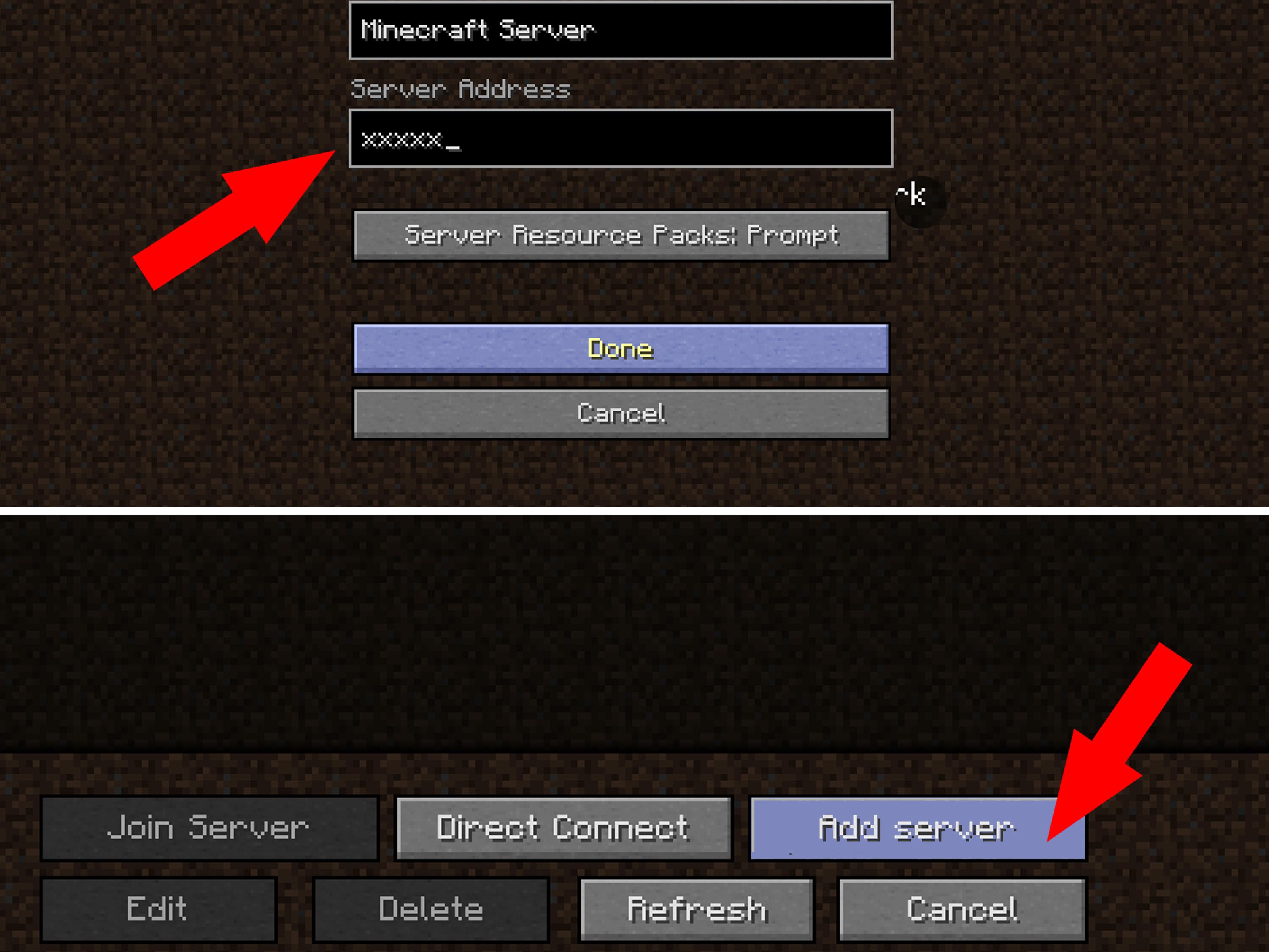 Server D Minecraft Photo - Find The Button Server Address