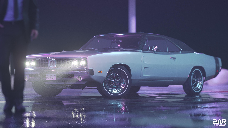 1969 Dodge Charger Rt Hd 3000x1688 Wallpaper Teahub Io