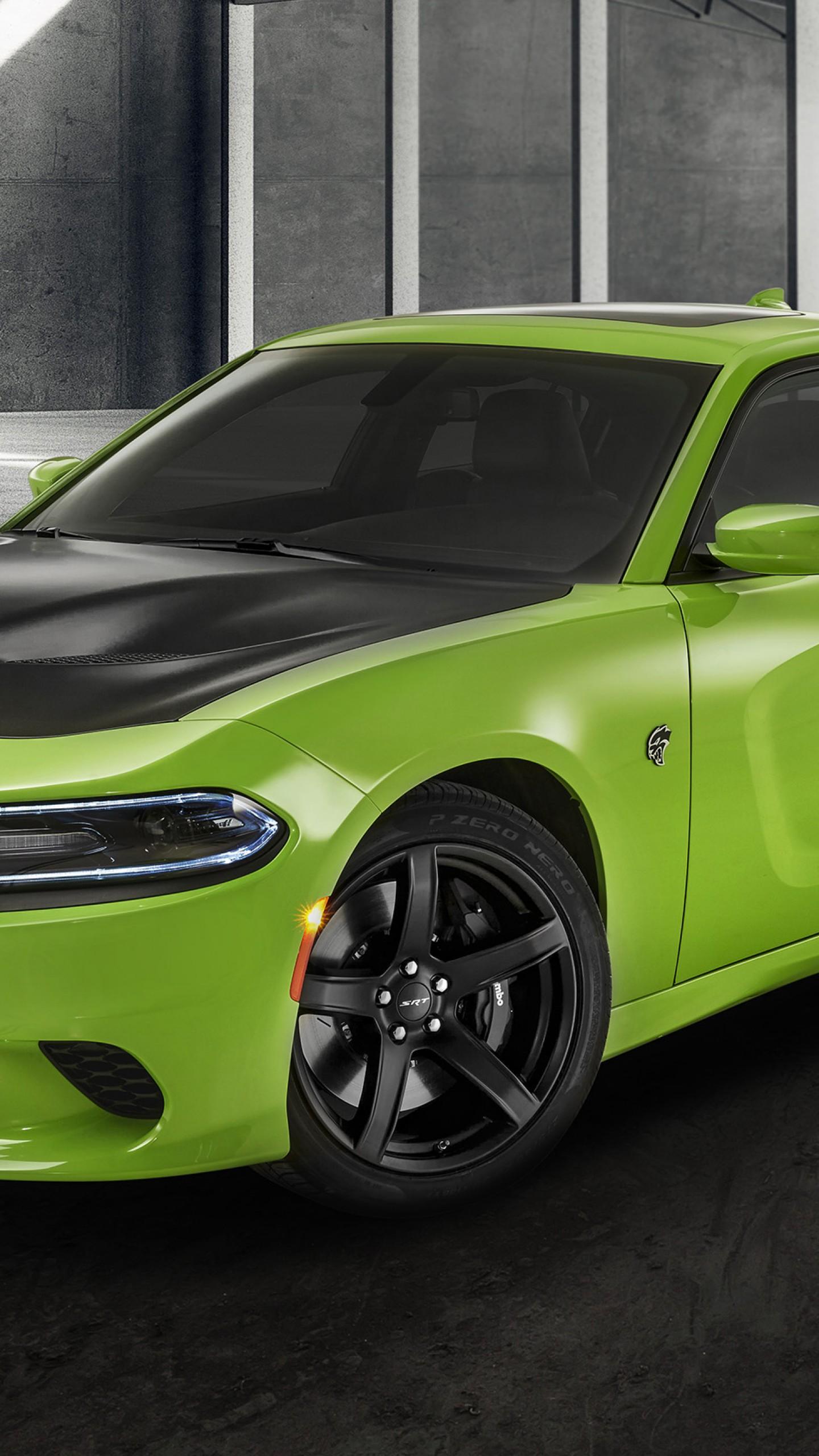 2020 Dodge Charger Green 1440x2560 Wallpaper Teahub Io