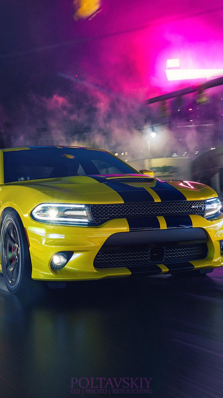 Dodge Charger Wallpaper Iphone 750x1334 Wallpaper Teahub Io